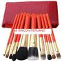 Set De 10 Brochas De Maquillaje Cosmeticos En Oferta