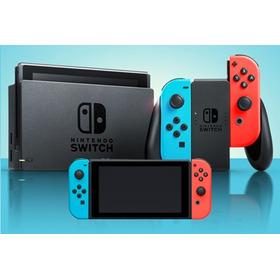 Nintendo Switch Color Gris Garantía + Regalo Juego Sorpresa