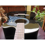 Guitarra California Standard De Studio, Negra Con Funda Ok *