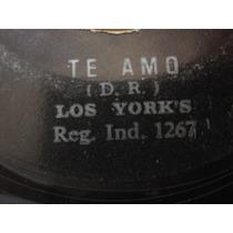 Vinilos Peru Melcochita Y Los Yorks Te Amo 45rpm Rock Psych