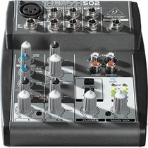 Behringer Xenyx 502 Mezcladora 5 Canales Todos Los Modelos!