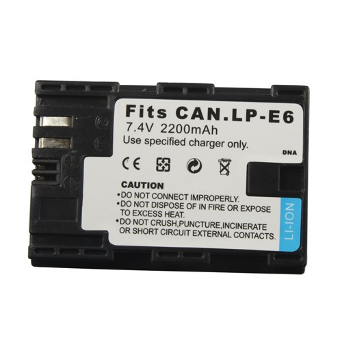 Bateria canon eos lpe6 lp e6 5d mark ii iii 6d 7d 60d 70d for Canon 5d especificaciones
