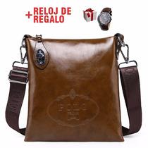 Morral Pequeño Elegante Polo + Reloj Regalo + Envío Gratis