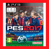 Pro Evolution Soccer 2017 Pes 17 Ps3 Incluye Pase En Linea.
