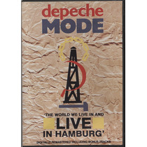 Dvd Original Depeche Mode The World We Live Live In Hamburgh