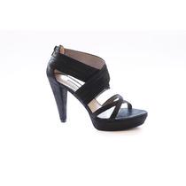 Zapatos Cuero Charol Negros Milano Bags