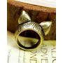 Neko Lucky Accesorios- Anillo Retro Cats Ears (bronce)