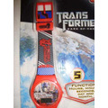 Reloj Digital Transformers - Optimus Prime