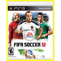 Fifa Soccer 12 By Electronic Arts Juegos Originales Para Ps3