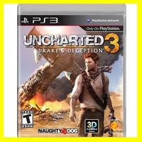 Uncharted 3 - Drakes Deception Juegos Originales Para Ps3