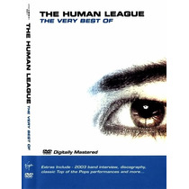 Dvd Original The Very Best Of The Human League Love Action