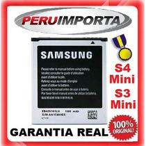 Bateria Samsung Galaxy S3 Mini I8190 S4 Mini I9190 I9195 Duo