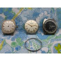 Mundo Vintage: Lote De Relojes Olma Invicta Otro