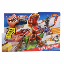 Duelo De T-rex Hot Wheels Mattel