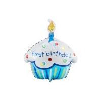 Primer Añito - Globo Cupcake Para Fiesta Infantil