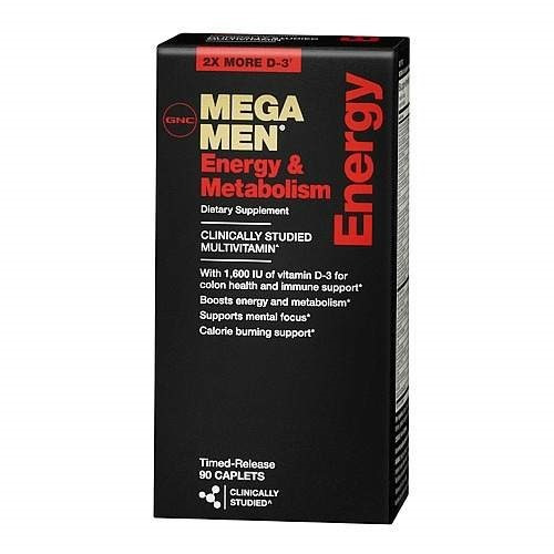 Mega Men Energy And Metabolism Gnc 90 Pastillas Usa **** S