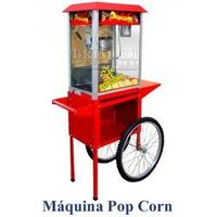 Maquina Carrito Hacer Cancha Pop Corn Venta Nueva
