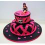 Cup Cakes Tortas Monster Hight Fiestas Infantiles Cumpleaños