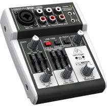Mixer Consola Mezclador Behringer Xenyx 302 Usb - Phantom