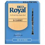 Caña Para Clarinete Rico Royal 1 Caja X 10 Und