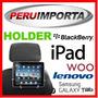 Soporte P/ Auto Tablet Sony Asus Dell Miray Samsung Lg Woo