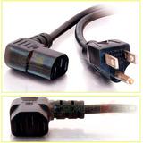 Cable Poder Para Pc De 1.80 Metros Tipo L Codo O Angular 90º