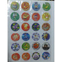 Coleccion Taps-tazos Pokemon Attack (europa)