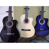 Guitarra Acústica Importada, Mastil Reforzado  (d-carlo)
