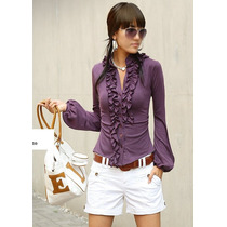 Blusa Vintage Fashion Para Mujer
