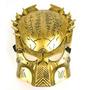 Mascara Depredador Halloween Carnaval Plata Oro Predator