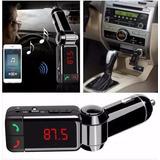 Receptor Bluetooth Transmisor Fm Cargador Llamada Auto Radio