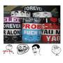 Pulseras De Silicona Memes, One Direction, Boobies, Etc.
