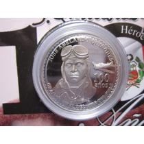 Moneda Plata Conmemorativa 100 Años Quiñones Peru 2014 Proof