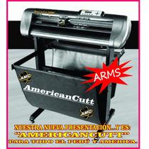 Plotter Corte Americancutt/ahora Con Tapas Azules/contornoa1