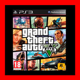 Grand Theft Auto V Gta 5 Ps3 Digital  Oferta 19 Soles !!!