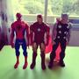 Marvel Figuras Hasbro Hombre Araña, Iron Man Y Thor. segunda mano  Lima