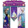 Frozen - Banner Happy Birthday Para Fiesta Infantil