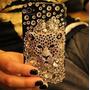 Funda Case Iphone 5g 5s Cover Brillante Strass Importados