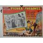 Cartel Tierra De Faraones Jack Hawkins Joan Collins H Hawks segunda mano  Lima - Perú