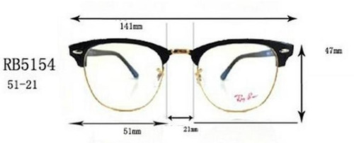 gafas ray ban tamaños