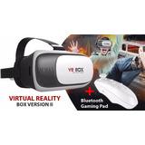 Vr Box 2.0 + Gratis Control Mando Bluetooth Realidad Virtual