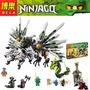 Ninja Ninjago 911 Piezas,dragón De 3 Cabezas