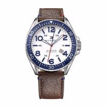 Reloj Tommy Hilfiger, Caja Acero Correa Cuero. Mira El Video
