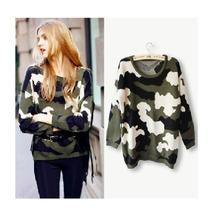 Claudia Shop Sweater Cardigan Militar Importado Pedido China