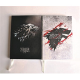Libreta Game Of Thrones Stark (notebook,planner,regalos,peru