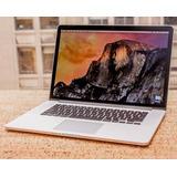 Macbook Pro 15.4 256gb Core I7 - Nueva Garantía Apple Tienda