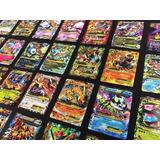 100 Cartas Pokemon Exs Gx Garantizado Gran Oferta Sol Y Luna