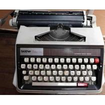 Maquina Escribir Portatil Automatica C/ Maletin