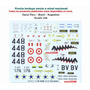 1/48 Decal Avion Tucano Dragonfly Sukhoi Cessna Mig Mirage