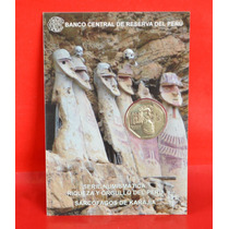 Peru Blister Moneda De Un Nuevo Sol Sarcofagos De Karajia